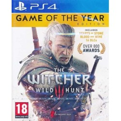 THE WITCHER 3 GAME OF THE YEAR COMPLETE EDITION PS4