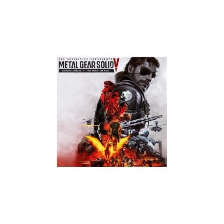 Metal Gear Solid V: The Definitive Experience - Phantom Pain + Ground  Heroes PS4 - Gamealia com