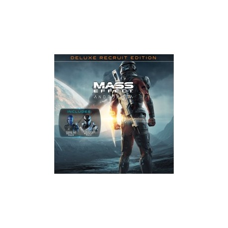 Mass Effect Andromeda Deluxe Recruit Edition + Saint Seiya Soldier's Soul - PS4