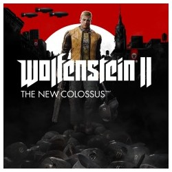WOLFENSTEIN II 2 THE NEW COLOSSUS - PS4